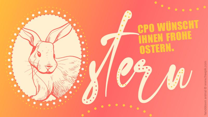 CPO wünscht Ihnen Frohe Ostern