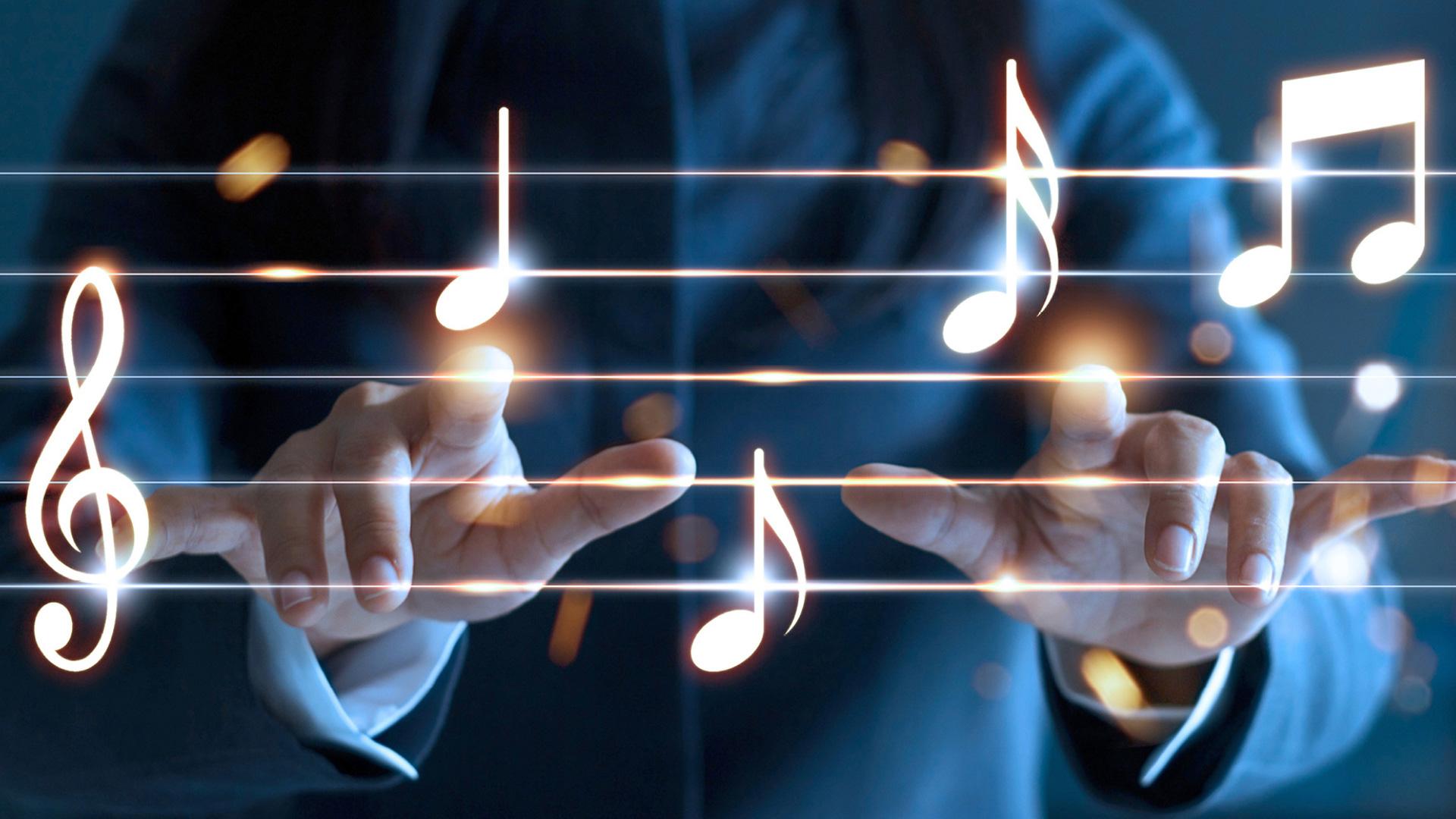Die Instrumente - Der Takt und die Notenblätter